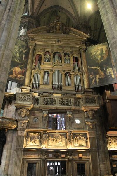 Milanskij sobor organ